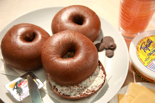 Recipe   [Bread]   Nature Bagel   Chocolate Bagel [480g (16.9oz)]
