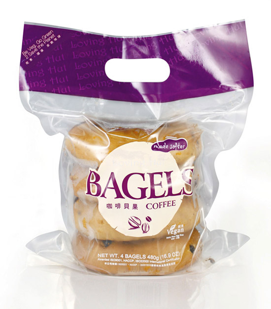 Pakage   [Bread]   Nature Bagel   Coffee Bagels [480g (16.9oz)]