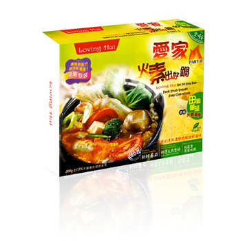 []      Loving Hut Hot Pot Soup Base- Farm Fresh Tomato Soup Concentrate (800g)