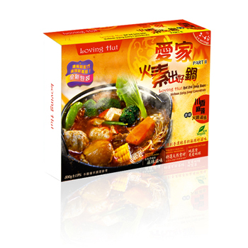 [Loving Hut Hot Pot]   Loving Hut Hot Pot   Loving Hut Hot Pot Soup Base-Sichuan Spicy Soup Concentrate (800g)